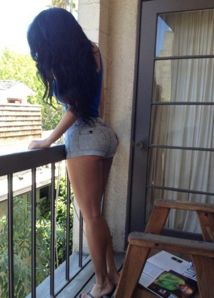 Black Ass In Booty Shorts 28