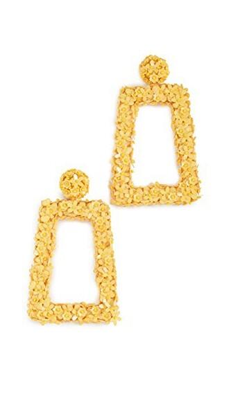 fleur earrings jewels