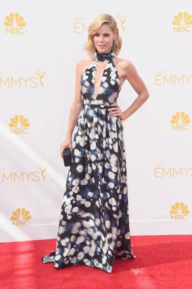 floral dress dress emmys 2014 maxi dress julie bowen