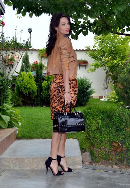 my silk fairytale jacket skirt t-shirt bag shoes jewels