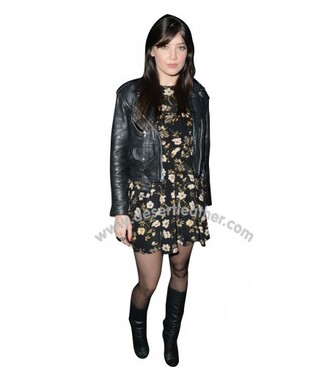coat girl girly fashion daisy lowe
