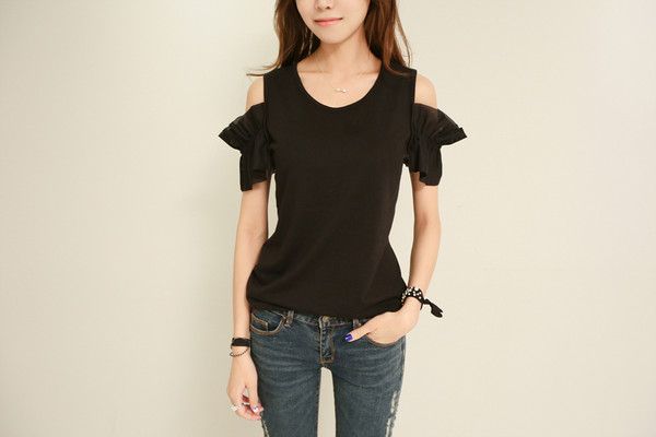 openshoulder koranfashion asian shirt