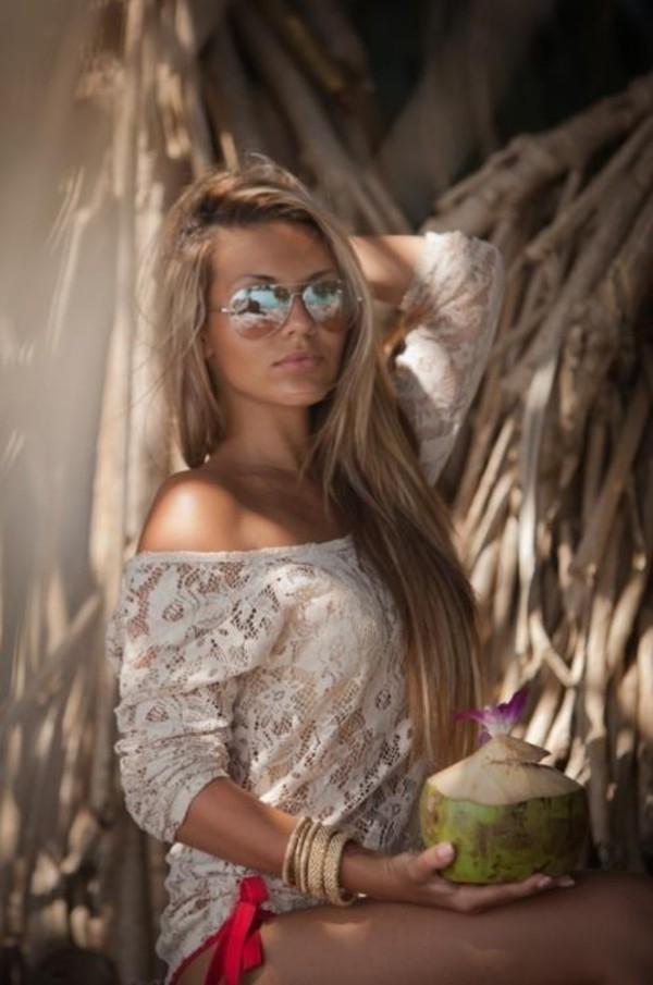 blouse swimwear sunglasses bracelets jewels