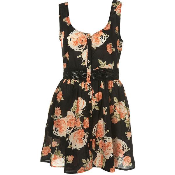 Orange Blossom Crochet Dress - Polyvore
