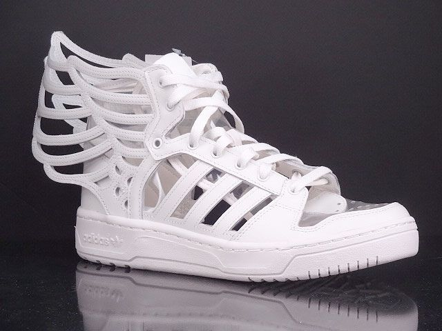 adidas jeremy scott wings 2.0 white black sneakers