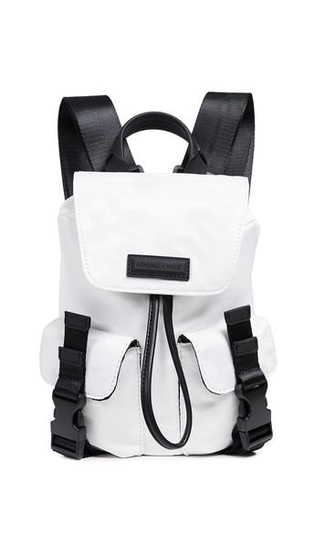 backpack white bag