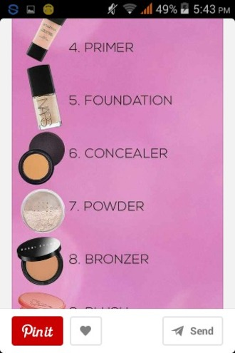 make-up foundation lipstick concealer