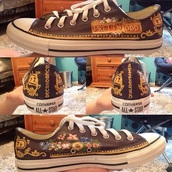 shoes,panic! at the disco,music,converse