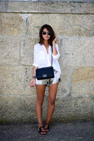 lovely pepa shorts shirt shoes bag jewels sunglasses