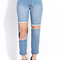Favorite destroyed boyfriend jeans | forever21 - 2000088121