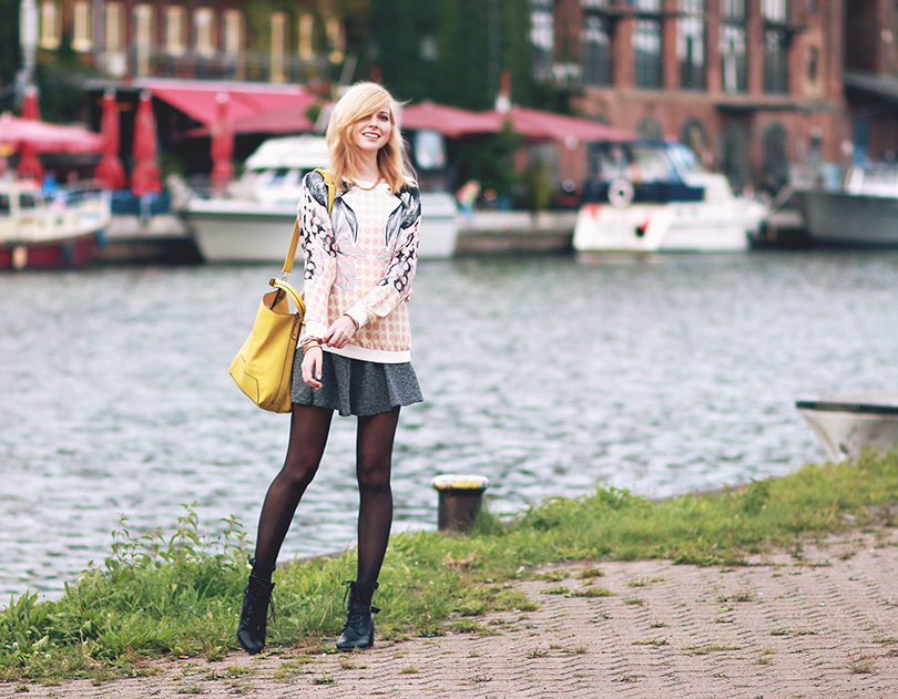 the pastel sweater - BEKLEIDET - Modeblog / Fashionblog Germany