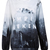 Grey VAMPIRE WEEKEND Castle Print Sweatshirt - Sheinside.com