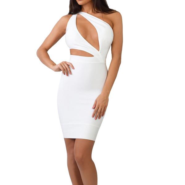 The Karina Cut Out Bandage Dress | Emprada