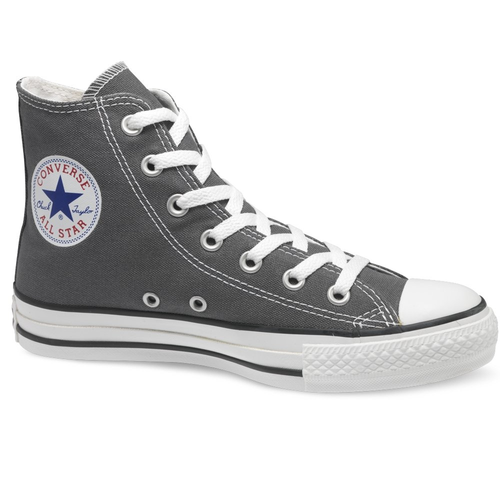 Converse Charcoal Grey Hi Top Chuck Taylor All Star Trainers