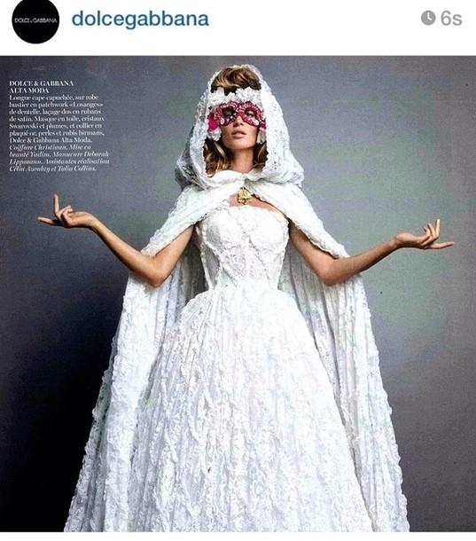 Dress dolce and gabbana wedding dress wedding clothes for Dolce and gabbana wedding dresses