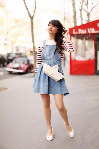 dress shoes t-shirt bag the cherry blossom girl
