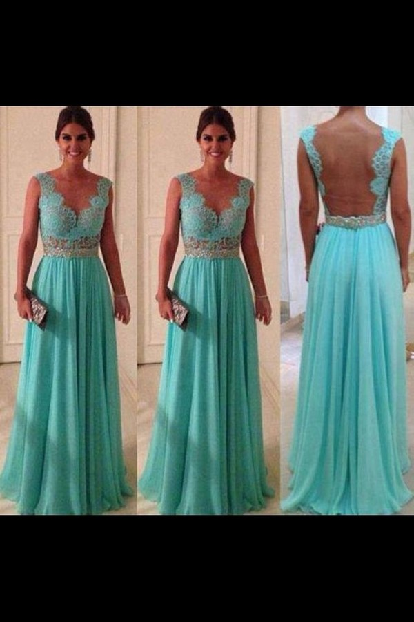 dress evening outfits dress long gown mint dress backless dress