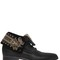 20mm embroidered leather fold down boots