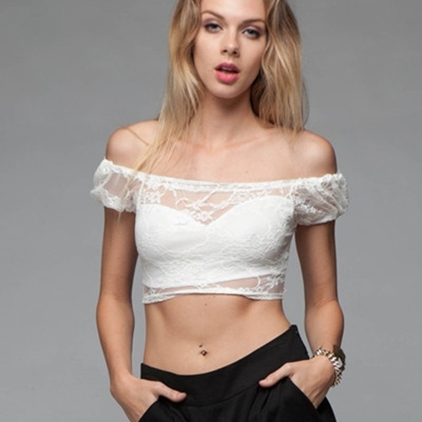 Like A Virgin Lace Top | Vanity Row