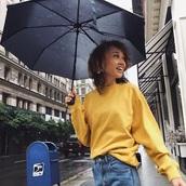 sweater,yellow,mustard,jumper