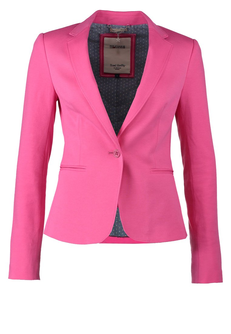 hilfiger denim vondra blazer shocking pink. Black Bedroom Furniture Sets. Home Design Ideas