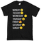 Emoji days of the week t-shirt - basic tees shop