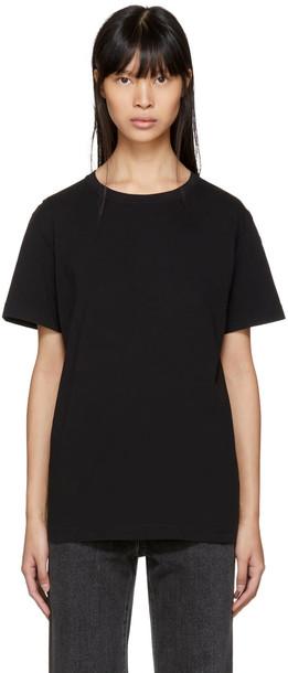 Helmut Lang t-shirt shirt t-shirt black top