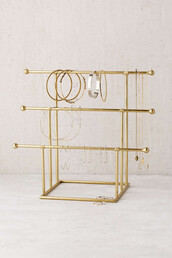 home accessory,jewelry stand,gold,jewelry,anthropologie,home decor,urban outfitters