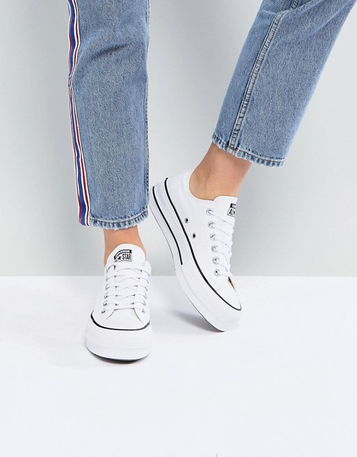 Converse Chucks with Plateau Sole Ctas Lift Platform Women's Sneakers White | eBay