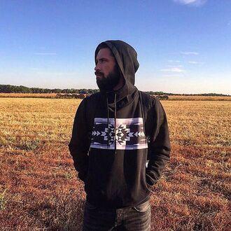 sweater hoodie black black hoodie hood streetwear streetstyle fusion nature