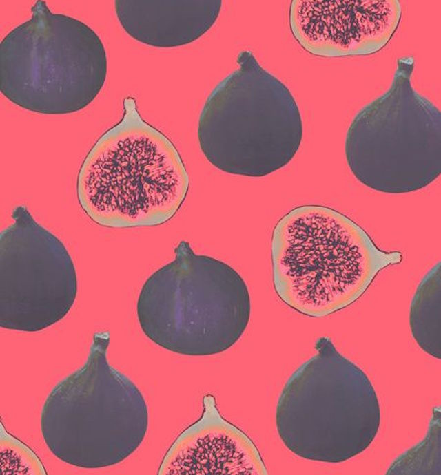 Abstract Fruit Art Prints For Your Lock Screen Cover