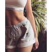 shorts,yeah bunny,grey,comfy,dog,frenchie,cute,sweatshorts