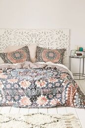 home accessory,magical thinking,boho decor,bedding,bedroom,print,mandala,urban outfitters