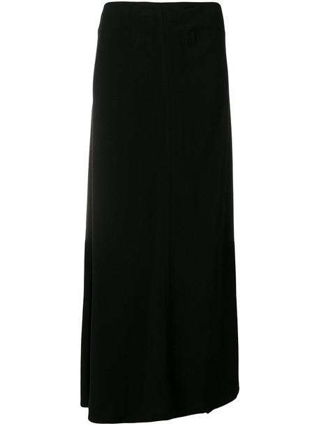 YOHJI YAMAMOTO skirt mermaid skirt women mermaid black silk