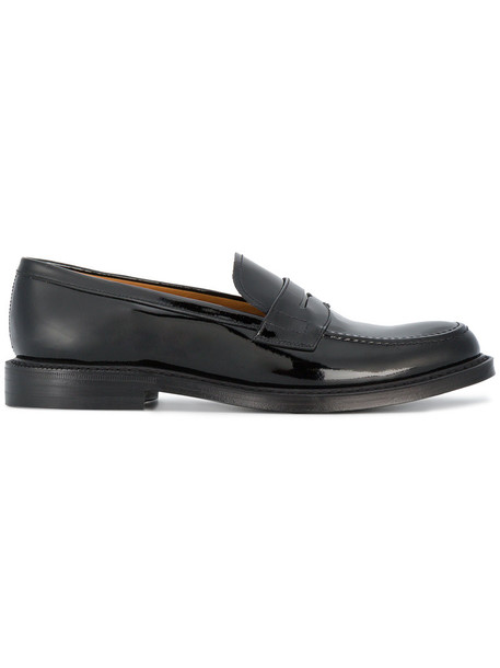 Church's women leather black shoes