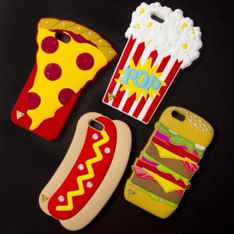 phone cover food