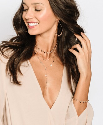 jewels necklace choker necklace v neck gold jewerly