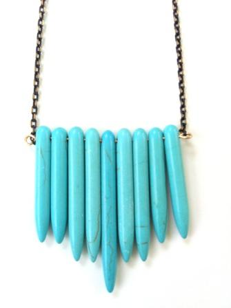 NECKLACE 58 BLUE – BLACK CHAIN | SIRAMARAUSA JEWELRY