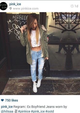 jeans denim baggy jeans trendy pants boyfriend jeans shirt jacket shoes