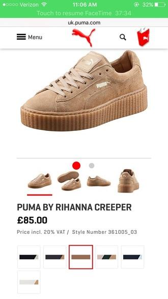 shoes rihanna puma