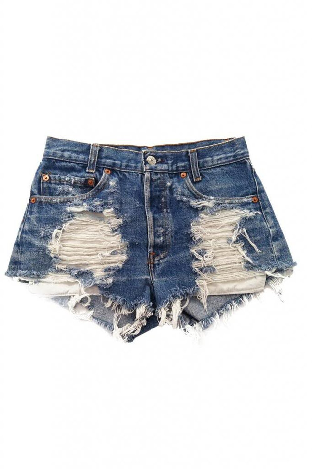 Women's vintage levi's distressed stone dreamer trendy shorts at amazon women's clothing store: