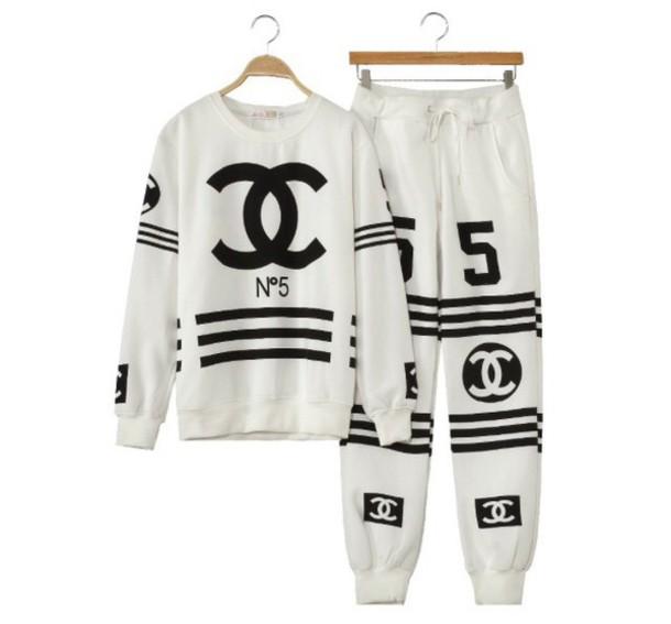 jacket coco chanel sweater wheretoget. Black Bedroom Furniture Sets. Home Design Ideas