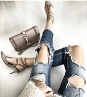 bag,Valentino,style,skinny jeans,shoulder bag,shoes,outfit