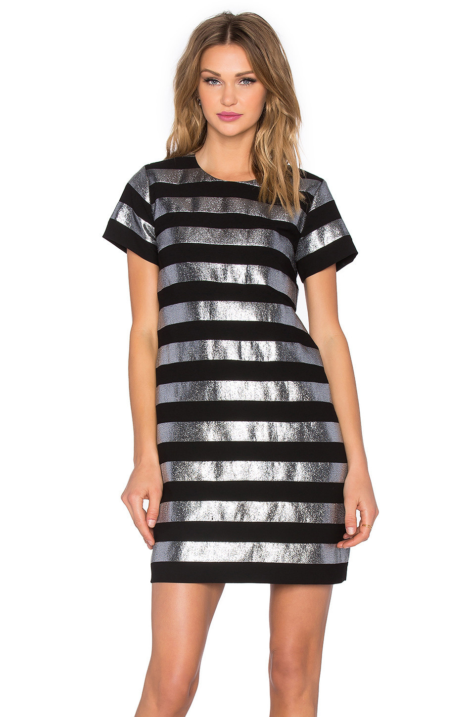 b7c3950e6542 Ellery Witch Doctor High-neck Dress in silver - Wheretoget