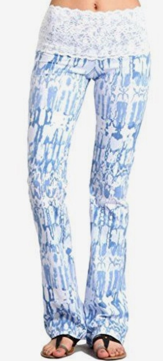 leggings blue laced blue leggings