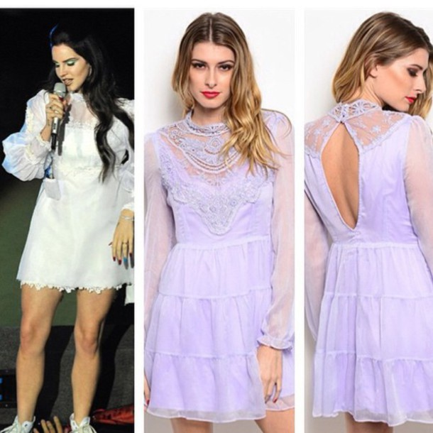 dress lana del rey lace dress retro retro dress fashion boutique women fashion