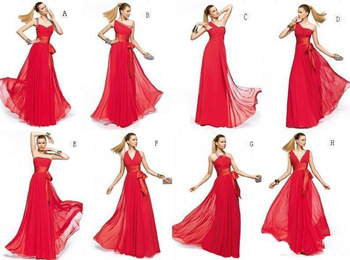 Aliexpress.com : buy high quality chiffon red junior bridesmaid dresses 2015 new fashion floor length long prom dress party dress for wedding from reliable dress for summer wear suppliers on wonder