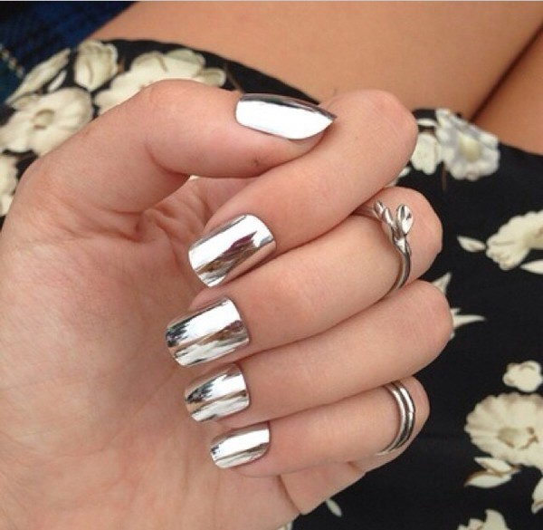 nail polish nail accessories metallic nail stickers
