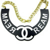 Cream Necklace - Wu Tang Clan - Coco Chanel Necklace