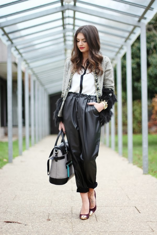 fashionhippieloves jacket pants blouse shoes bag jewels